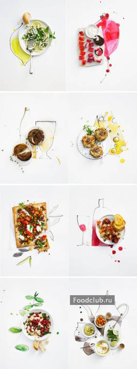 Food styling от DIETLIND WOLF